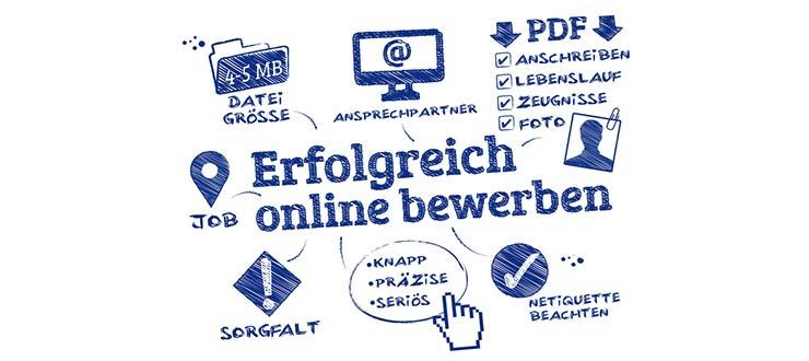 Online-Bewerbung Praktikum